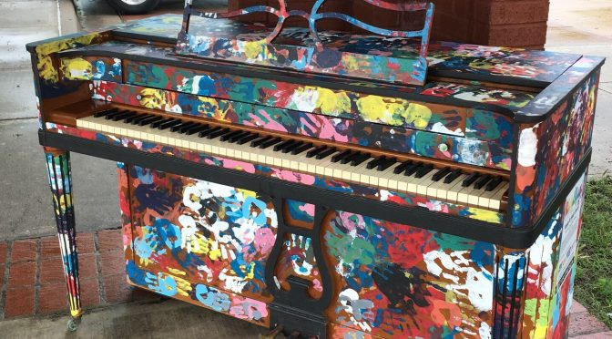 Public piano installed in Kendall Whittier