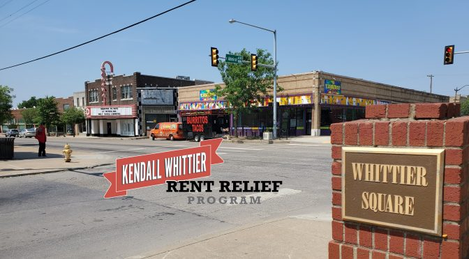 Local grant rounds out third round of Kendall Whittier rent relief