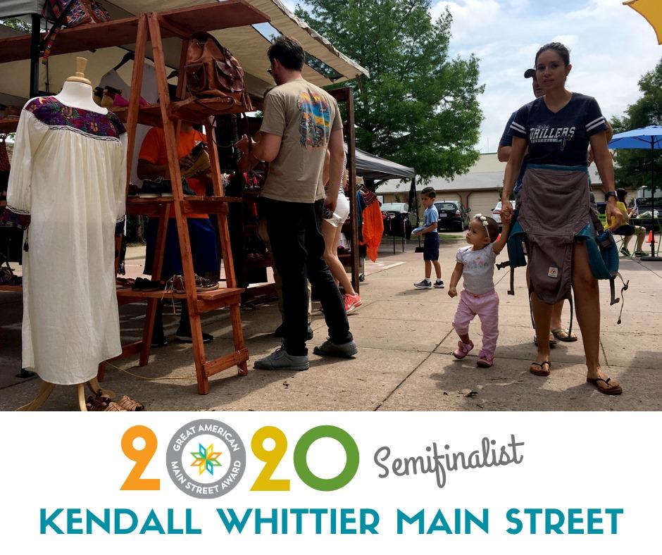 Kendall Whittier Main Street: 2020 Great American Main Street Award Semifinalist Spotlight