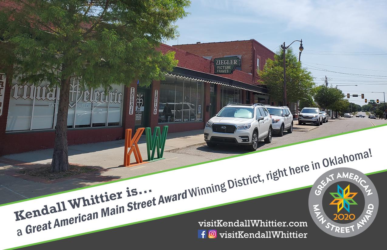 Kendall Whittier earns national revitalization award