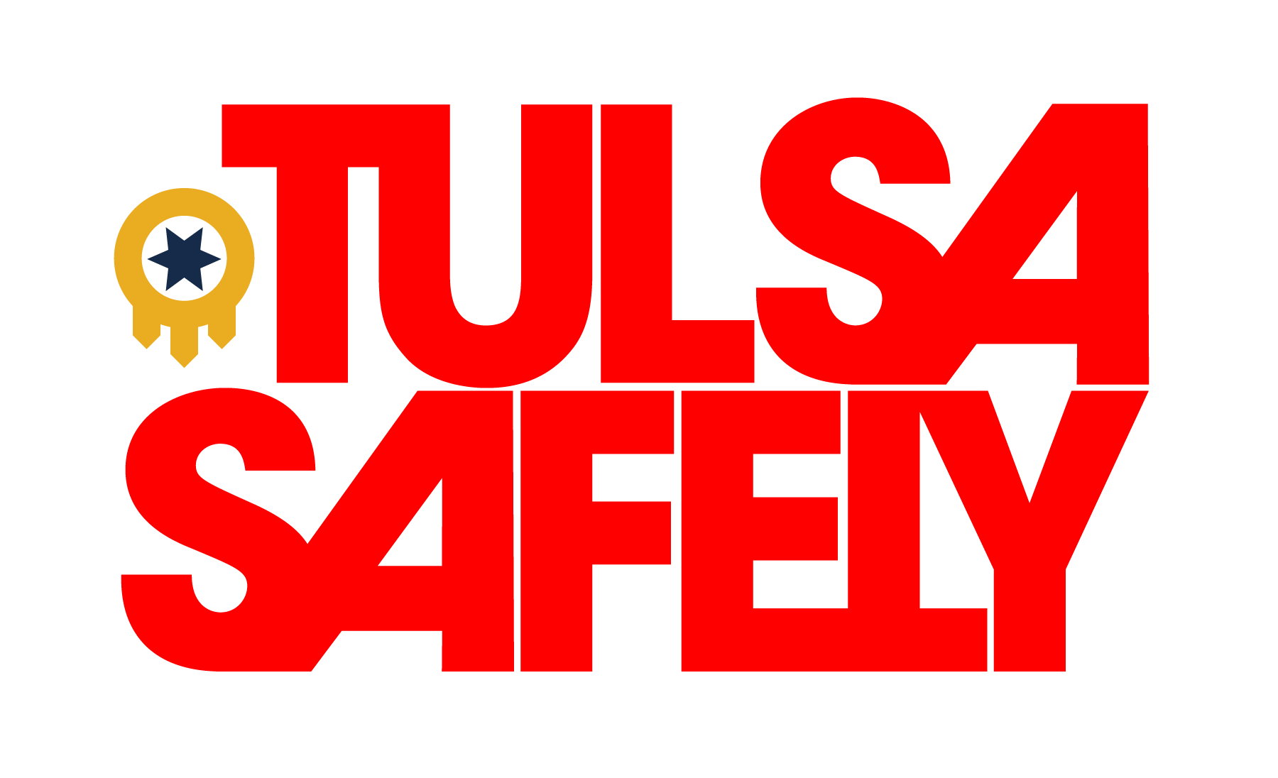 Tulsa Safely logo