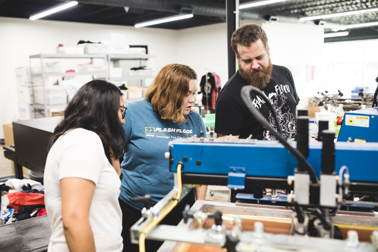 FEATURE: A Q&A with Flash Flood Print Studios