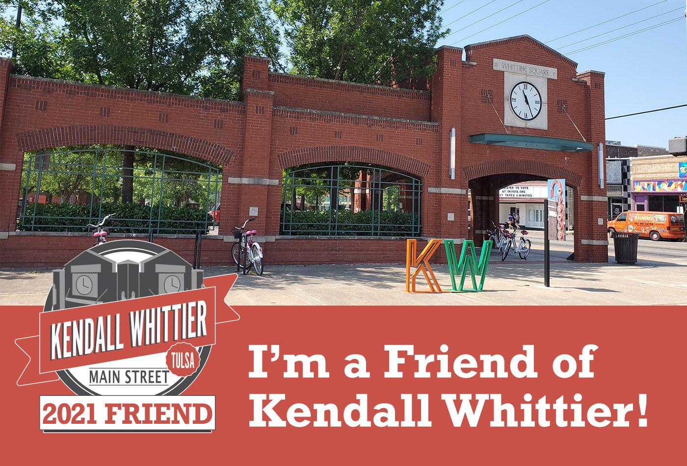 Kendall Whittier is looking for Friends