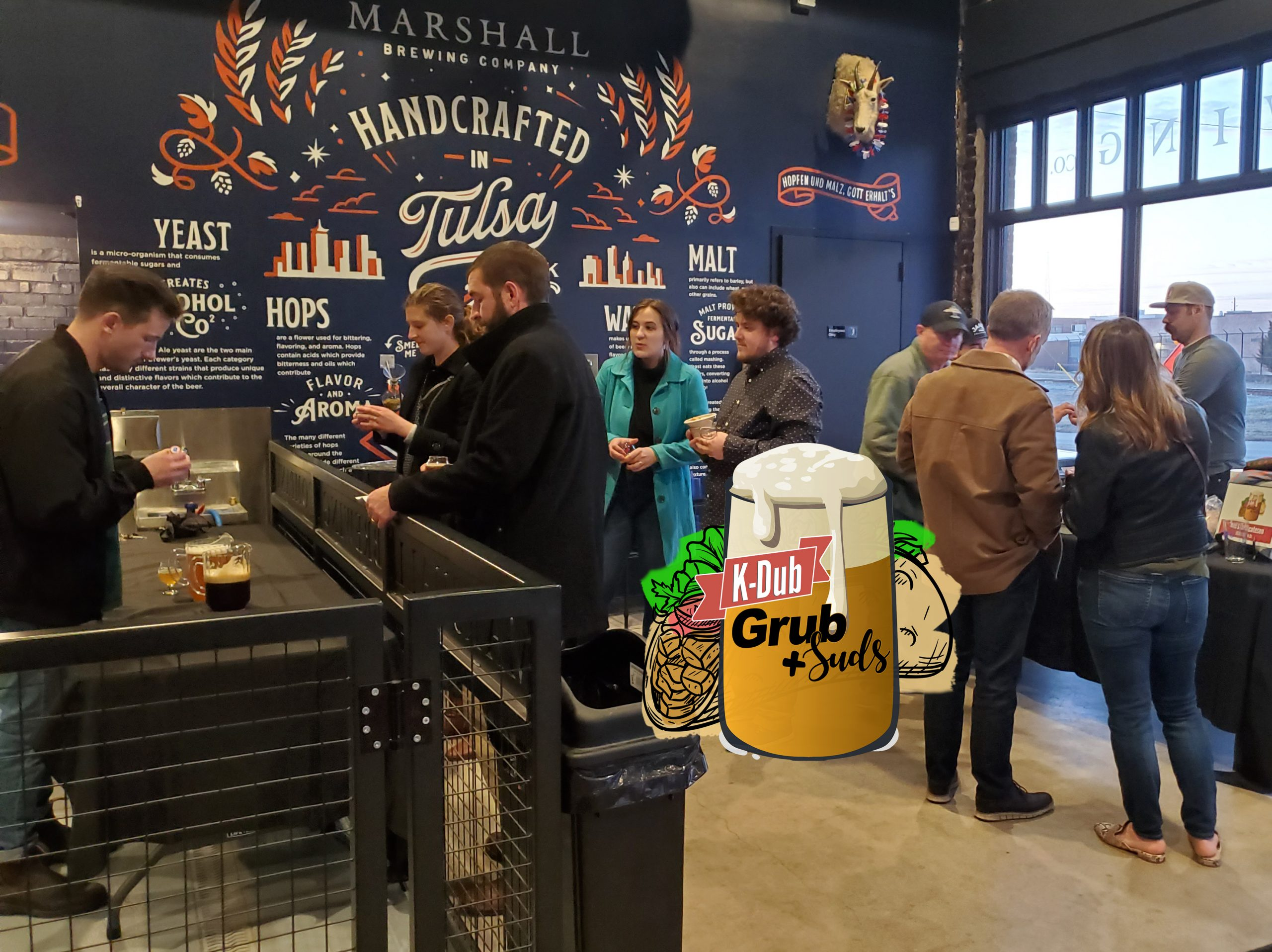 Grub, beer the stars of this foodie event